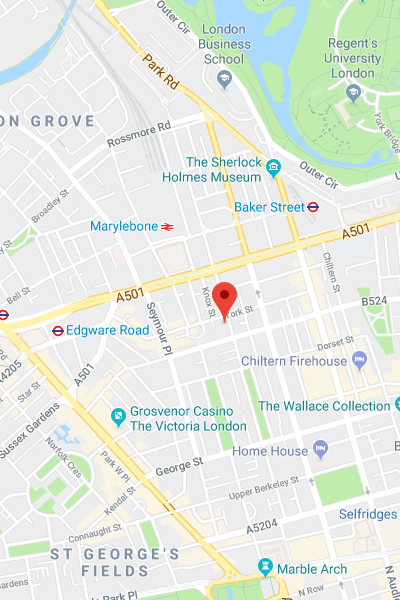 Location - Baker Street, massage in Baker Street