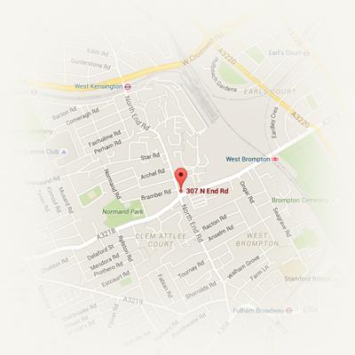 Location - West Kensington, massage in West Kensington