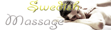 Information - Swedish Massage for men, women and couples